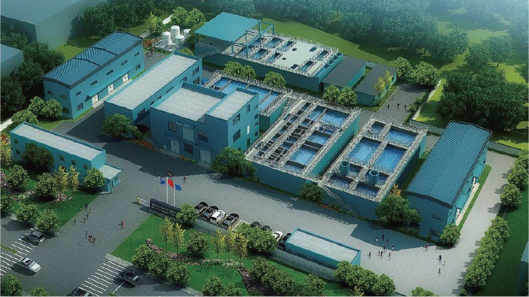 2500m3/d Electroplating wastewater treatment and reuse project